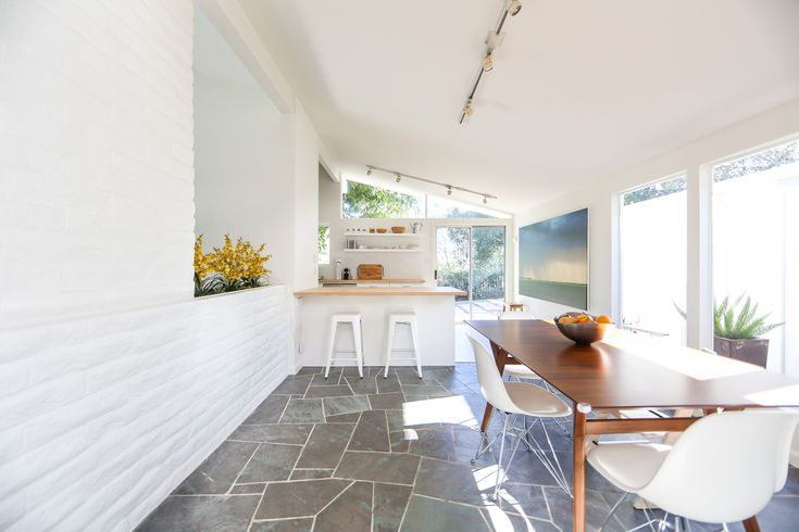 putting the white into a mid century home