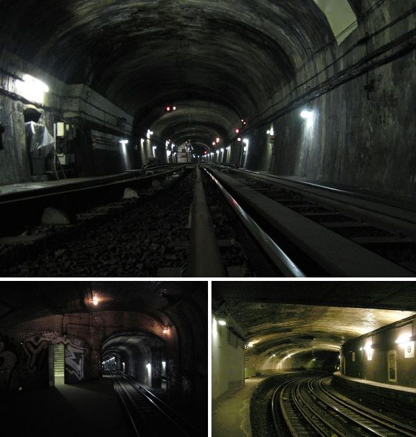 The Paris Métro, beautifully decorative and influenced by Art Nouveau, is not as extensive as London's tube but serves more stations (300 in total), so it's hardly surprising that a few ghost stations lurk on the network.  Most of the Paris ghost stations were closed at the outset of World War Two