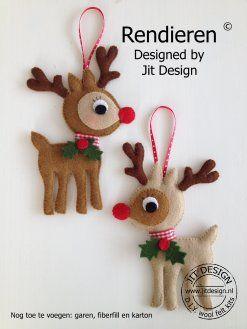 Winkel.joydesign.eu mini rudolph the reindeers voor in de kerstboom/tak/kado