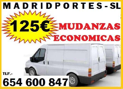 MUDANZAS EFICACEZ EN GETAFE-MADRID 65(x)460x08(x)47*ECONOMICAS FLETES Autorizados,MADRIDPORTES con presupuestos economicos en mudanzas/portes.((madrid, Colmenar viejo, Hortaleza, pinto, Barrio de Salamanca, rivas vaciamadrid,colmenar viejo, parla, etc.)) DESDE:40€((portal a portal)) PORTES BARATOS EN GETAFE-MADRID ANUNCIOS:DESDE 125€ Mudanzas Economicas en Getafe madrid con mozos profesionales en el sector(somos puntuales y baratos)