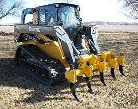 CL Fabrication has a variety of skid steer & loader attachments designed to stand up to those tough jobs you can't do alone.