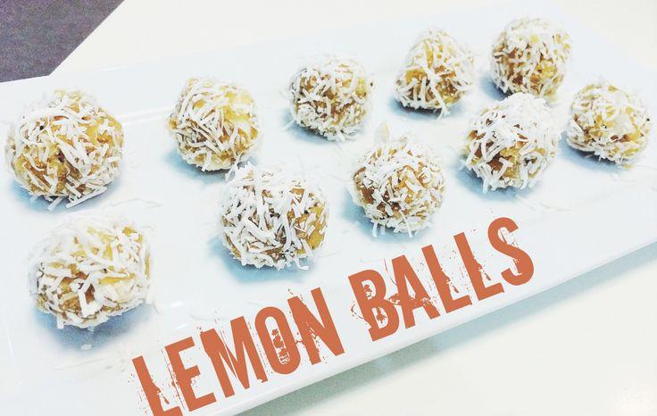 Healthy snack - Lemon Bliss Balls