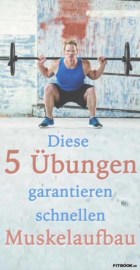 Diese 5 Übungen garantieren schnellen Muskelaufbau – Peter Holl