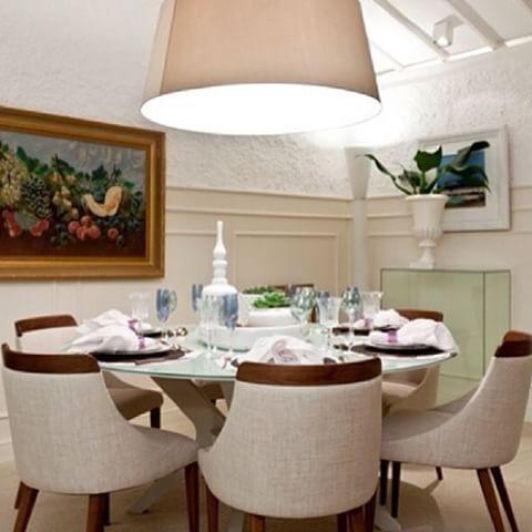 Mesa diva e cadeiras Alpi, combinação perfeita!#saccaro #mesa#cadeira