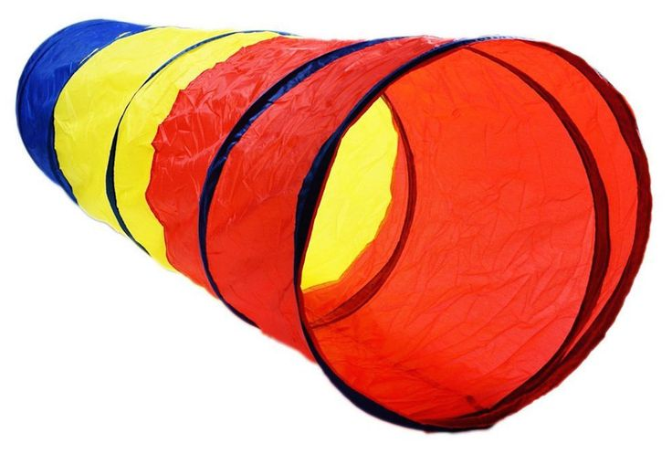 Kids Play Tunnel Tent Pop Up Tube Indoor Outdoor Discovery Adventure Toy 6 Feet #Unbranded