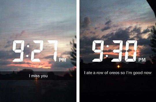 miss you but Oreos so ok
