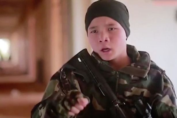 ISIS THREATENS CHINA AS CHILD MUSLIM FIGHTERS VOW TO RETURN HOME AND ATTACK OWN COUNTRY IN THE TERROR GROUP'S FIRST VIDEO TO TARGET THE COUNTRY