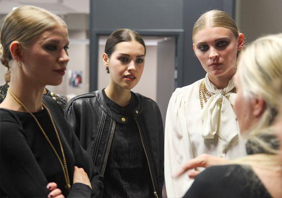 Lumene @ Gloria Fashion Show 2014. #behindthescenes #lumene