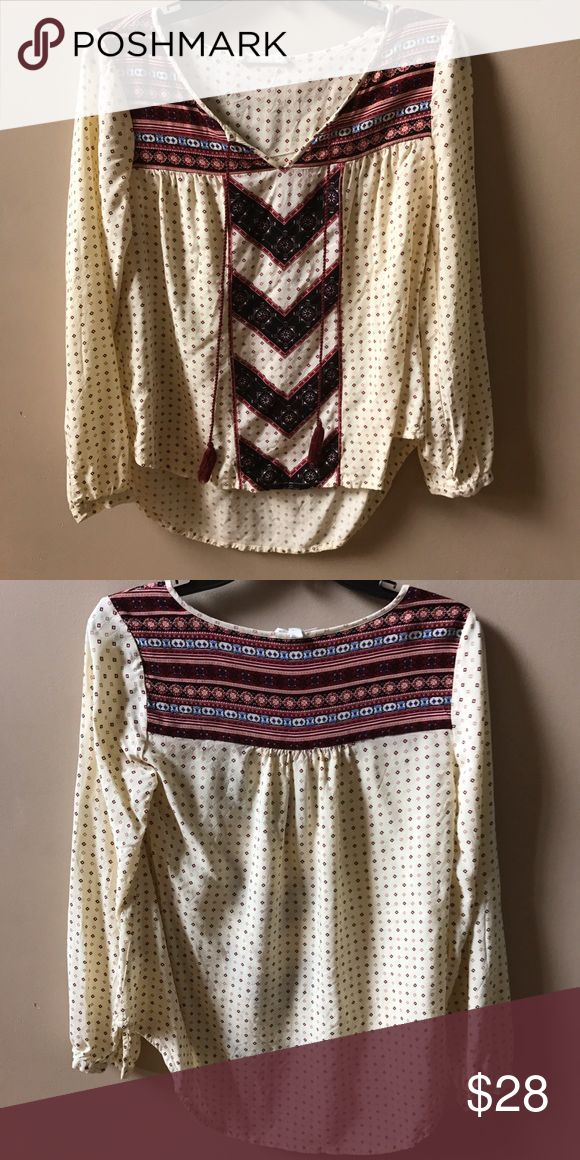 Submit ANY Offer!Aztec Blouse Great Condition! Tops