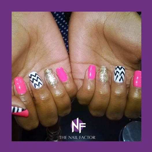 Art Gellish manicure done @ The Nail Factor Pavilion! #NailFactorMoments #gelpolish  #nails #cool #nail #gelart #gelnails #nailart #instanails #gel  #nailgasm  #todaysnails  #manicure  #nailswag #nailpolish
