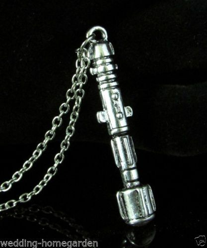 Hot-Film-Dr-Who-Sonic-Screwdriver-UNIVERSAL-11th-Doctor-Chain-Pendant-Necklace