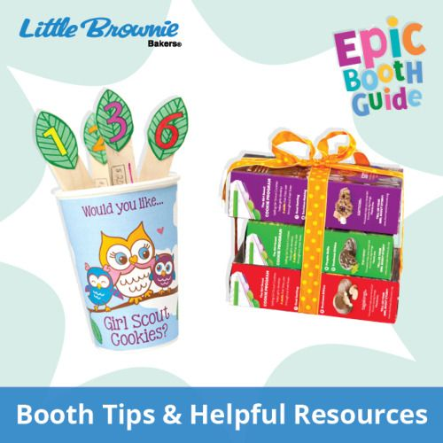 Preparation is the key to a truly epic booth! Use these tips and resources to prepare for booth sales this year.