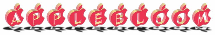 Applebloom (3D Text Effect Generator)