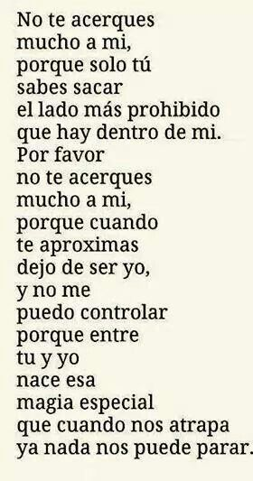 No te acerques mucho a mi | frases | Life Quotes, Love ...