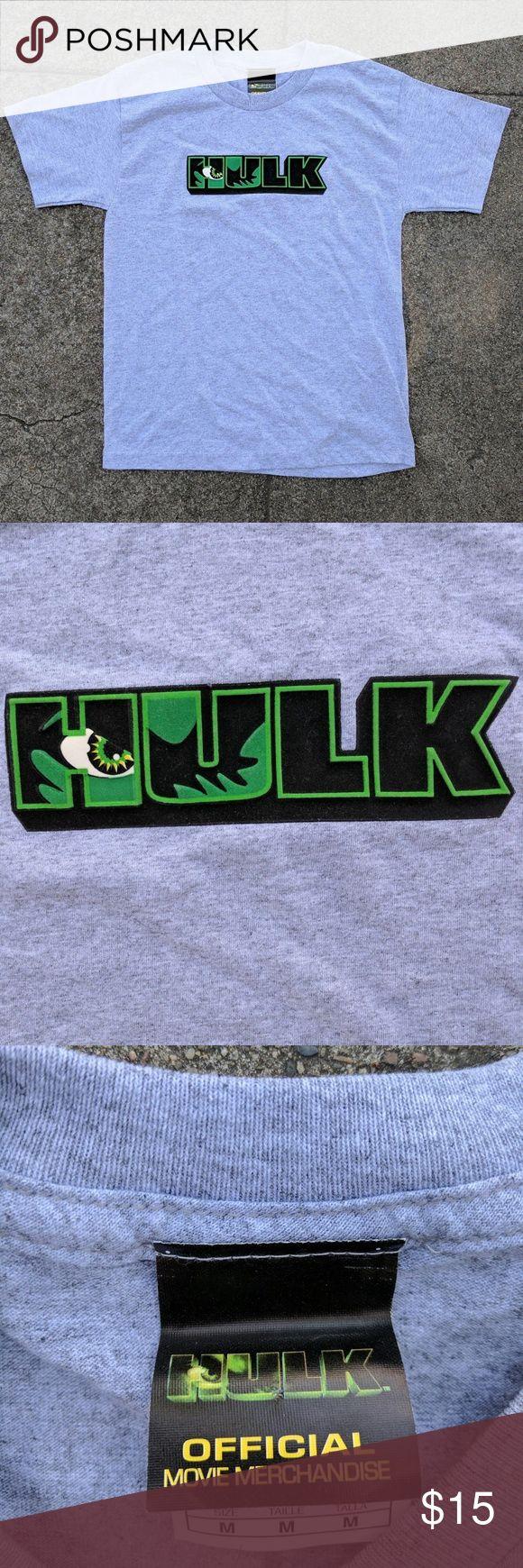2003 HULK movie t-shirt 2003 HULK movie t-shirt Size Kids M #hulk #marvel #mcu #marvelcinematicuniverse #brucebanner #ericbana #2003 #movies #comicbook #hollywood Marvel Shirts & Tops Tees - Short Sleeve