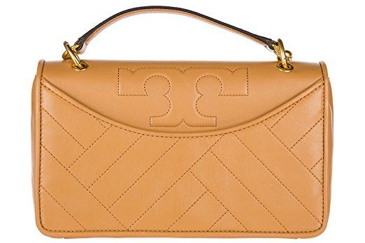Tory Burch - Alexa convertible shoulder #bag in a tan or beige shade with #Gold Hardware for that #luxe look | #Ad