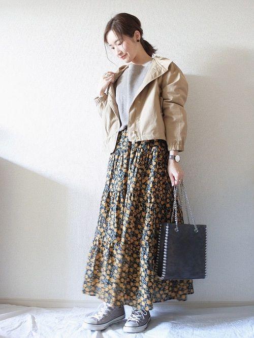 3e59931c558 YUKI |GUのスカートを使ったコーディネート【2019】 | WEAR | 着回し ...