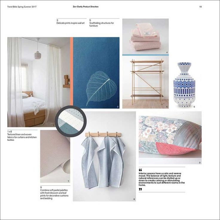 Trend Bible - Home & Interior Trends S/S 2017