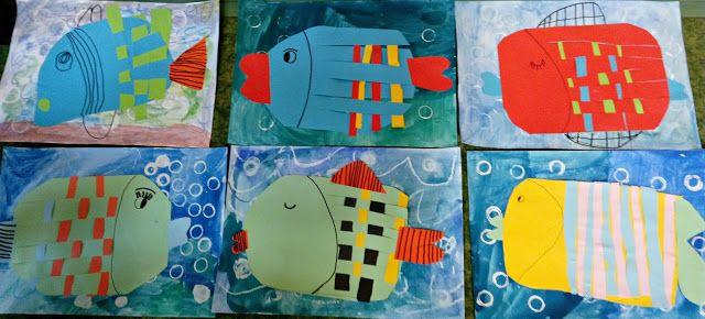 Tvoříme s dětmi  ☺: Ryby
