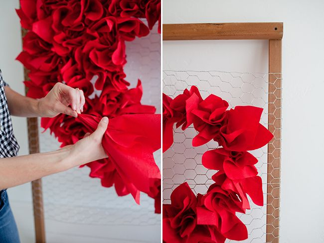 DIY Valentine's Day Heart Backdrop | Little Peanut Magazine
