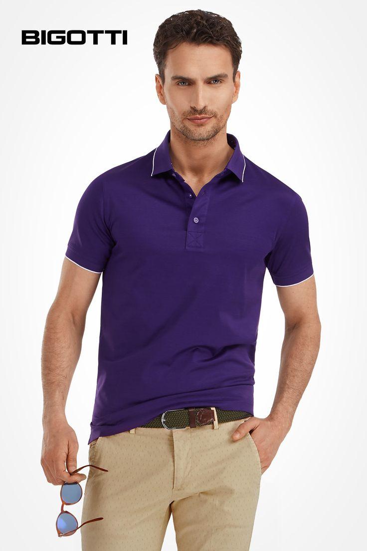 The #polo #shirt - a #great #choice for a #subtle and #wearable #look www.bigotti.ro #Bigottiromania #followus #stilmasculin #tinute #relaxed #outfits  #mensfashion #moda #barbati #tricouri #ootdmen #ootd #casual #smartcasual