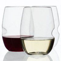 Available now at Kingston Wine Co.! Great hostess gift, perfect for patio and poolside lounging, or to throw in a bag for a romantic hike. GoVino unbreakable wine glasses