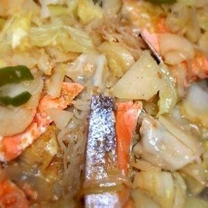 調理機器別「ちゃんちゃん焼き」レシピ|楽天レシピ ホットプレートで☆簡単鮭のちゃんちゃん焼き♪