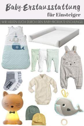 Baby-Erstausstattung für Einsteiger von Eltern für werdende Eltern