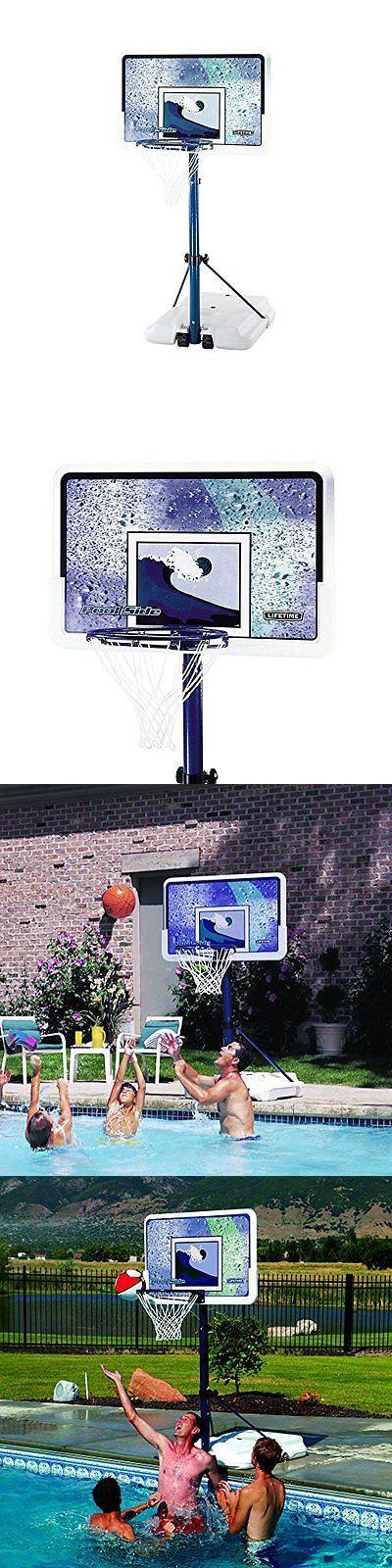 Backboard Systems 21196: Lifetime 1301 Pool Side Basketball System, 44 Inch Backboard New -> BUY IT NOW ONLY: $147.39 on eBay!