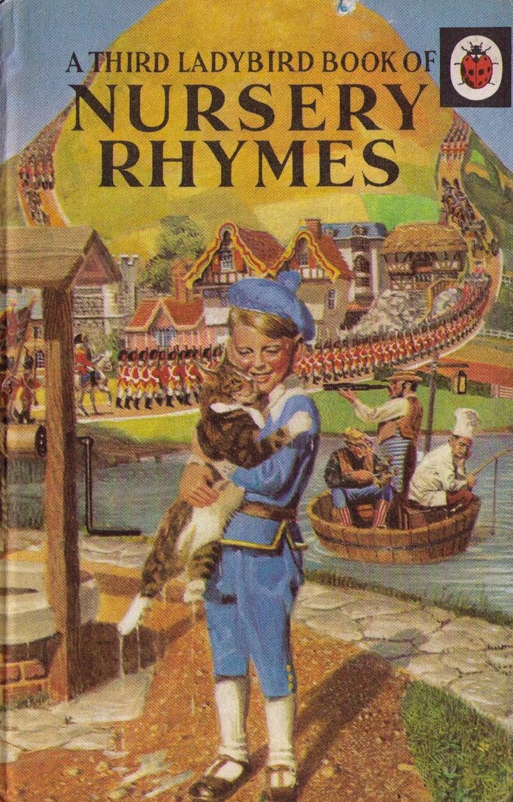 Nursery Rhymes - Illustrated by Frank Hampson | #ladybirdbooks