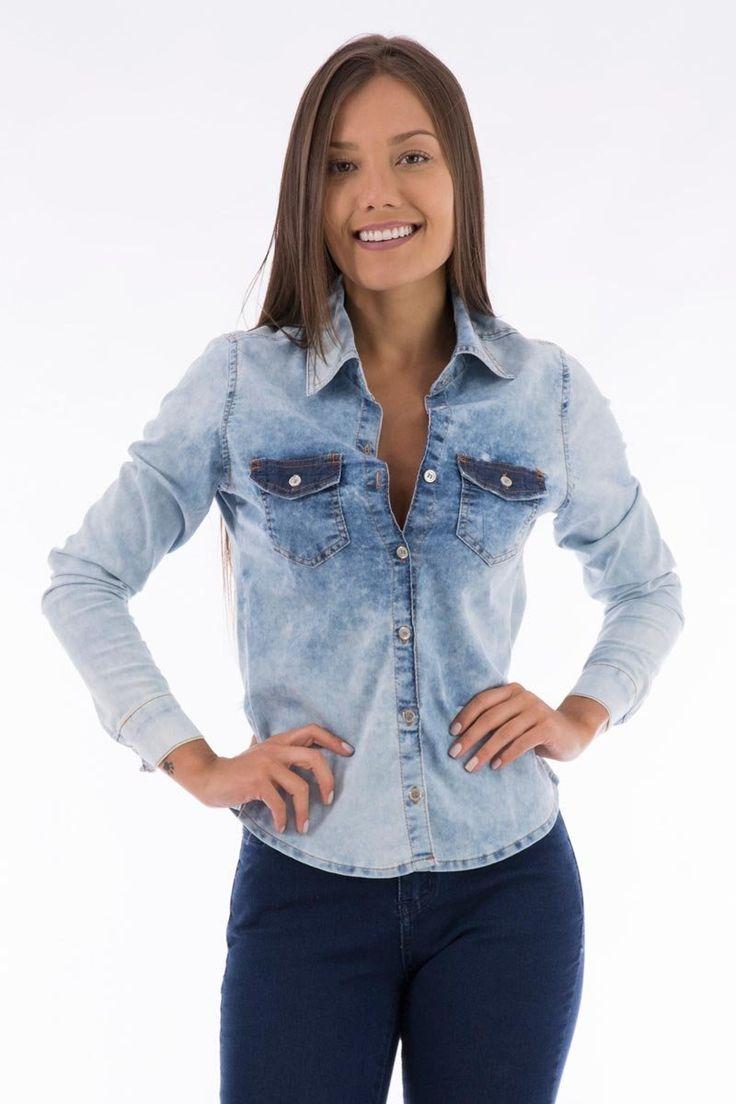 Camisa Jeans BioTipo | Mmoda