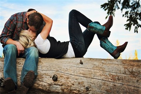 Boots & boys, better together! @*Megz* figured you'd love this for your dream country wedding