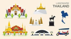 Travel Concept Thailand Landmark Flat Icons Design .Vector - Download From Over 51 Million High Quality Stock Photos, Images, Vectors. Sign up for FREE today. Image: 44970153