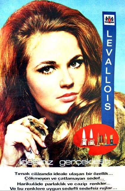 OĞUZ TOPOĞLU : levallois tırnak cilası oje 1971 nostaljik eski ko...