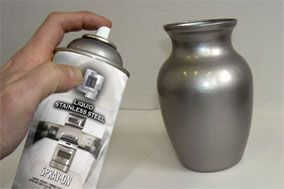 for Can you spray paint stainless steel