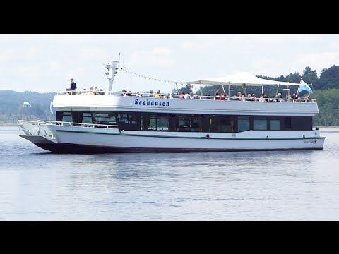 Staffelsee Schifffahrt mit der MS Seehausen - YouTube
