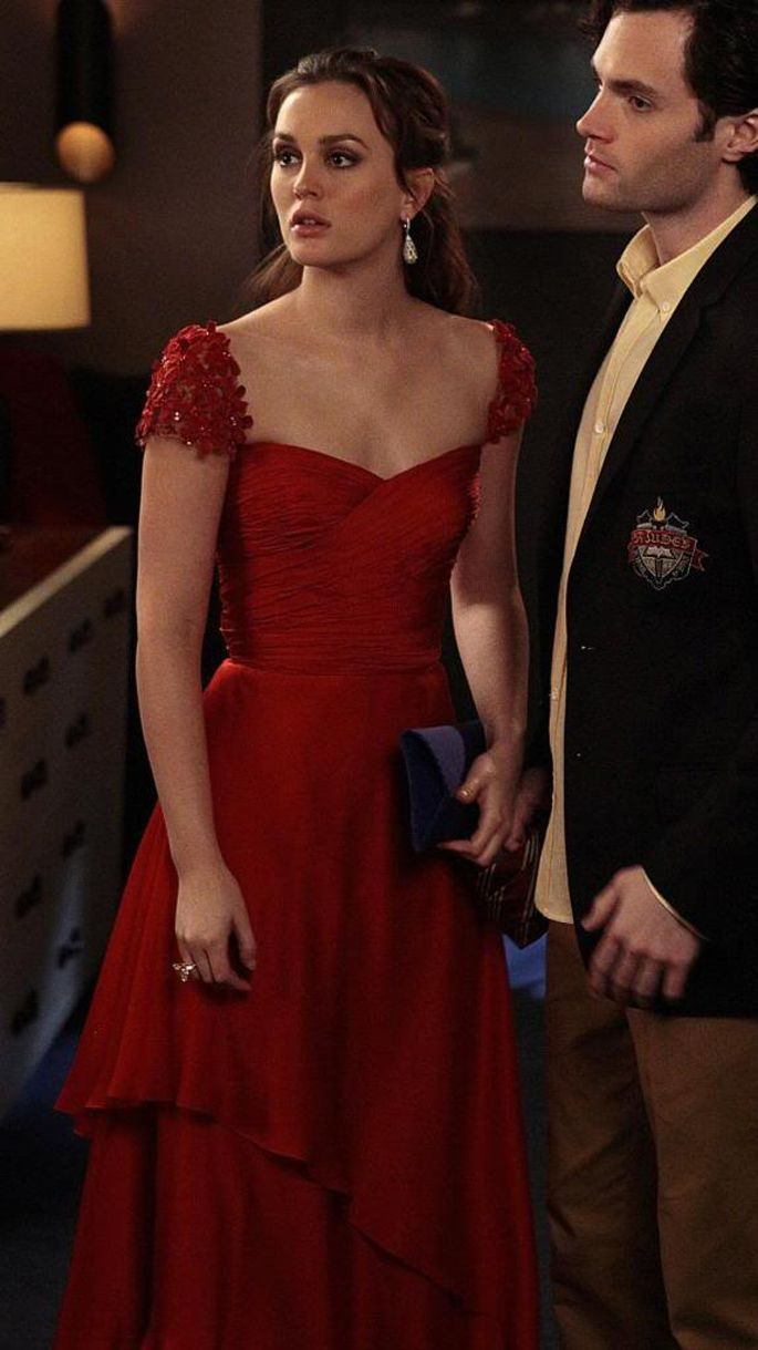Good god that red gown