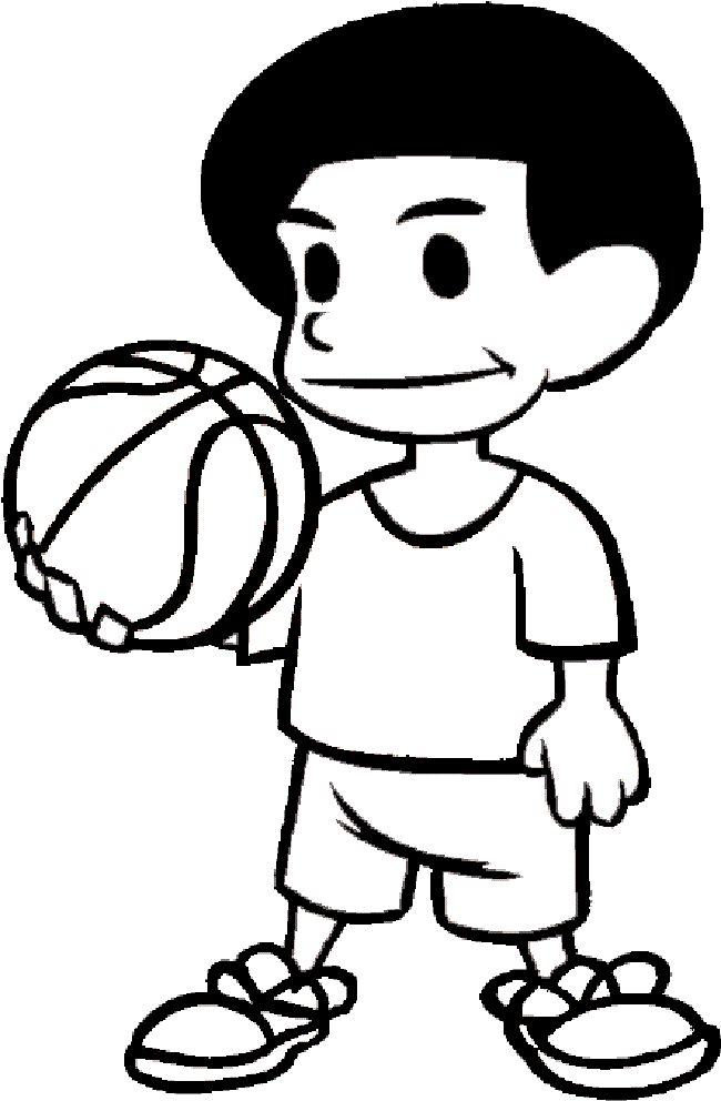 nba player coloring pages | coloring Pages | Pinterest
