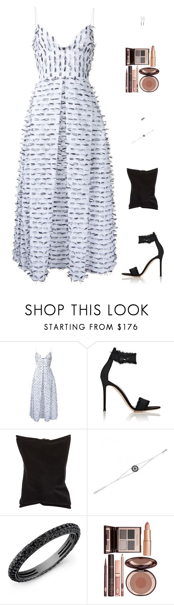 """""""Untitled #5101"""" by mdmsb ❤ liked on Polyvore featuring Alex Perry, Gianvito Rossi, Anya Hindmarch and Charlotte Tilbury"""