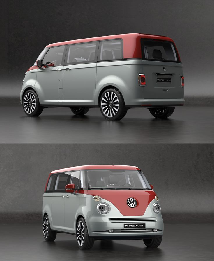 2016 volkswagen t6 vintage concept inspired by the 1950 vw t1 concept brings back confident. Black Bedroom Furniture Sets. Home Design Ideas