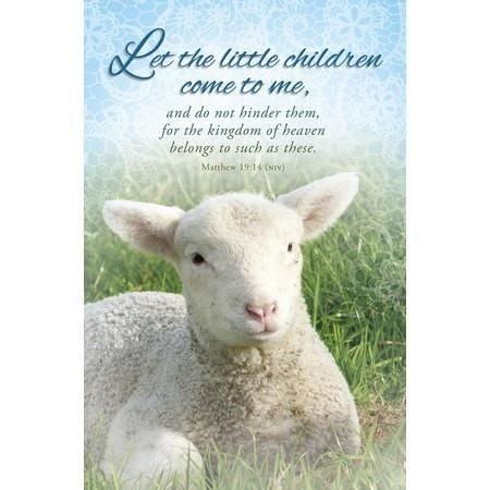 Let the Little Children (Matthew 19:14, NIV) Bulletins, 100