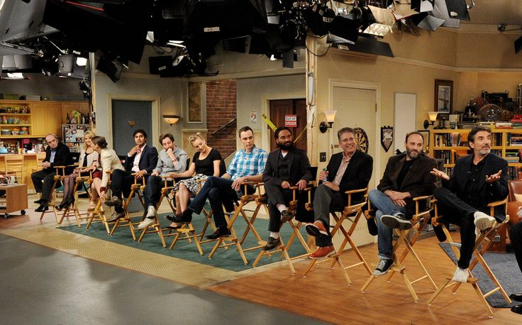Cast and crew interview on the set (2013).