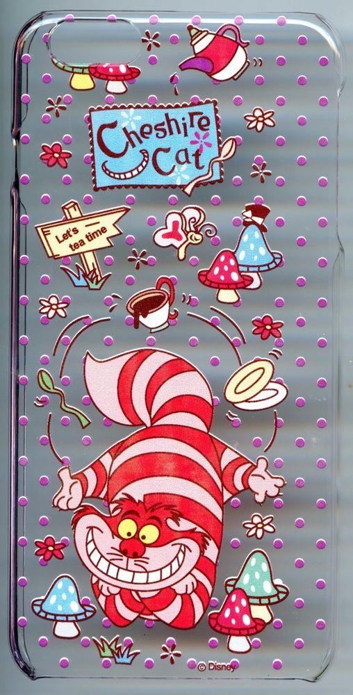 Transparent Case for iPhone 6 Plus Alice in Wonderland Cheshire Cat Tea Mushroom