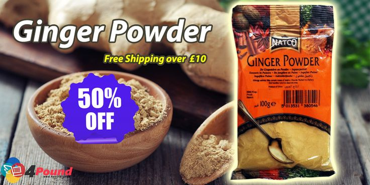 Buy Fresh ‪#‎Grocery‬ Products at ‪#‎shop4pound‬. Order ‪#‎Ginger_Powder‬ Online & get 50% OFF  Buy Now : http://www.4pound.co.uk/ginger-powder