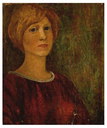 Eva Prokopová- Autoportrét r. 1962 / v naději/