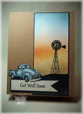 Crafting The Web: Country Get Well Card Tutorial by Theresa Momber