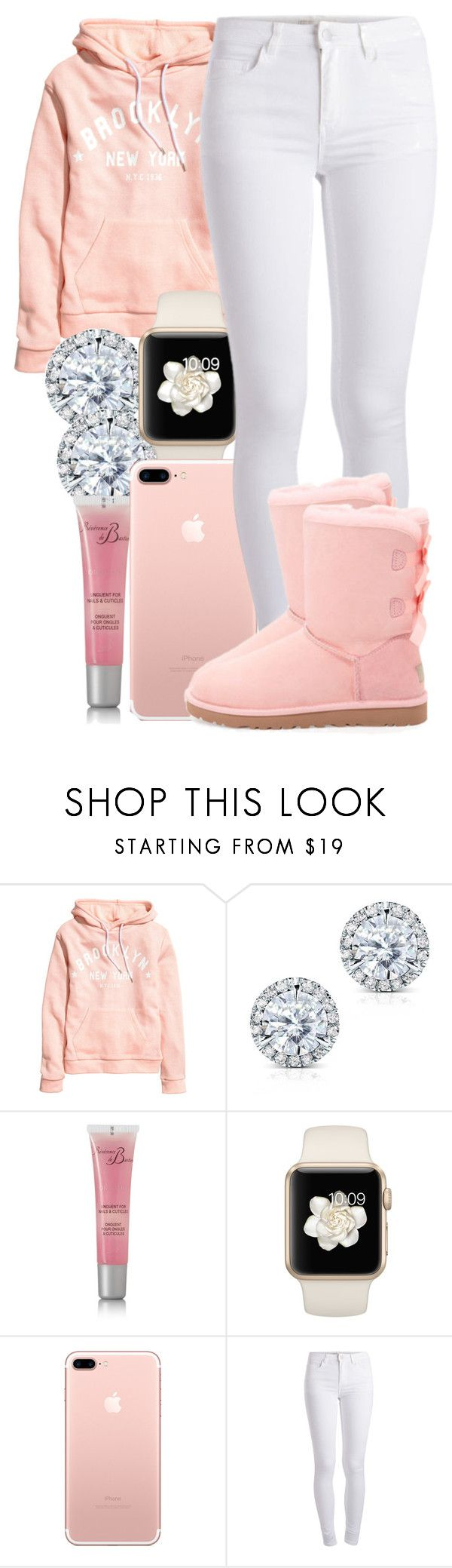 """""""(Cuffing season)Eric Bellinger"""" by guwapshawty ❤ liked on Polyvore featuring H&M, Kobelli, Révérence de Bastien, Pieces and UGG Australia"""