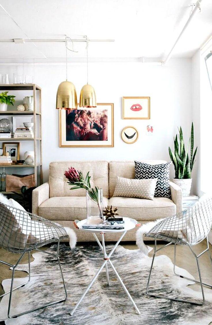 living room gold cowhide rug living