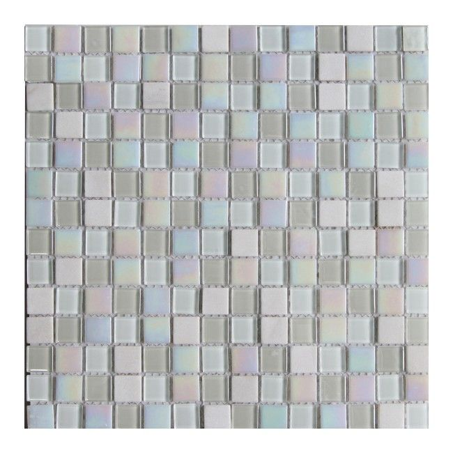 Mozaika Colours Suncity 30,6 x 30,6 cm biała