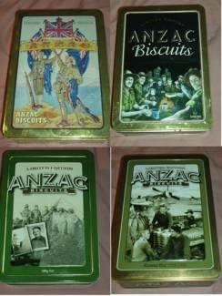 Arnotts Anzac Biscuit Tins